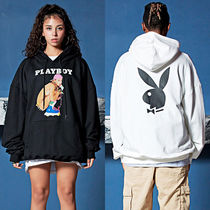 SAINTPAIN Pullovers Unisex Street Style Collaboration Long Sleeves