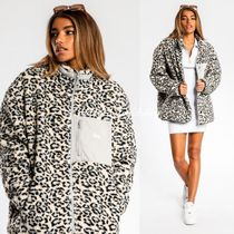 STUSSY Leopard Patterns Street Style Medium Oversized