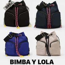 bimba & lola Casual Style Plain Purses Shoulder Bags