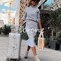 STAUD Casual Style Street Style A4 Plain Totes