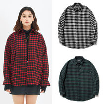 SAINTPAIN Other Check Patterns Casual Style Unisex Street Style