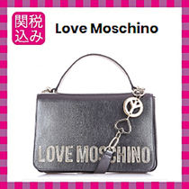 Love Moschino Faux Fur Chain Shoulder Bags