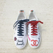 CHANEL Street Style Collaboration Sneakers