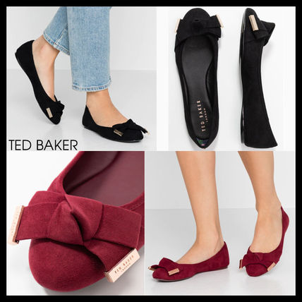 Round Toe Casual Style Suede Plain Home Party Ideas Flats