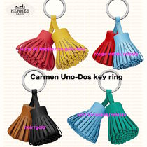 HERMES Leather Keychains & Bag Charms