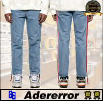 ADERERROR Stripes Street Style Plain Cotton Jeans & Denim