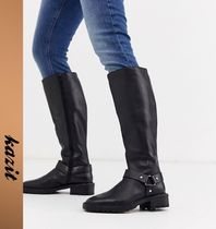 ASOS Casual Style Leather Over-the-Knee Boots