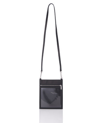 Unisex Street Style Leather Shoulder Bags