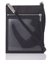 RICK OWENS Unisex Street Style Leather Shoulder Bags
