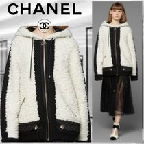 CHANEL Wool Cashmere Jackets