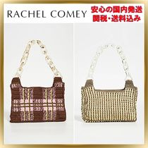 Rachel Comey Other Check Patterns Chain Elegant Style Shoulder Bags