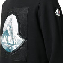 MONCLER Sweatshirts Long Sleeves Cotton Logo Sweatshirts 5