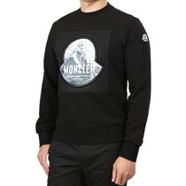 MONCLER Sweatshirts Long Sleeves Cotton Logo Sweatshirts 6
