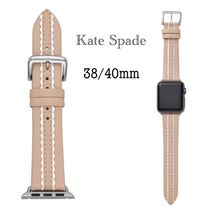 kate spade new york Casual Style Leather Office Style Elegant Style Watches