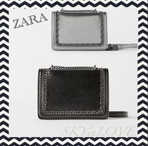 ZARA Casual Style Chain Shoulder Bags