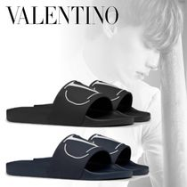 VALENTINO Plain Shower Shoes Shower Sandals