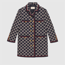 GUCCI Other Plaid Patterns Casual Style Wool Tweed Medium