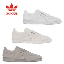 adidas Suede Street Style Collaboration Plain Leather Sneakers
