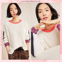 Anthropologie Casual Style Blended Fabrics Street Style Collaboration