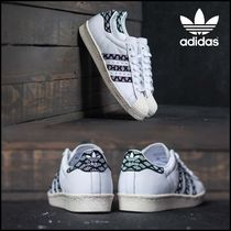 adidas SUPERSTAR Unisex Street Style Other Animal Patterns Python