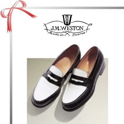 Bi-color Office Style Loafer & Moccasin Shoes