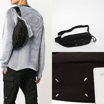 Maison Martin Margiela Unisex 3WAY Plain Hip Packs