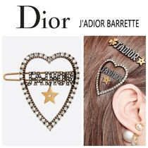 Christian Dior Barettes Star Casual Style Blended Fabrics Party Style
