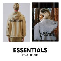 FEAR OF GOD ESSENTIALS Pullovers Unisex Street Style Long Sleeves Oversized Hoodies