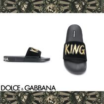 Dolce & Gabbana Shower Shoes Shower Sandals