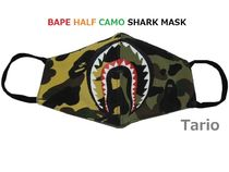 A BATHING APE Camouflage Unisex Street Style Accessories