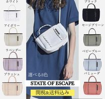 State of Escape Casual Style 2WAY Shoulder Bags