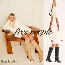 Free People Casual Style Street Style Plain Boots Boots