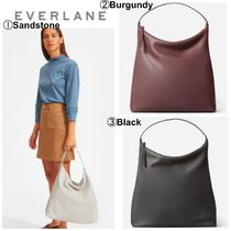 Everlane Casual Style Plain Leather Office Style Totes