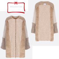 Stella McCartney Wool Plain Medium Coats