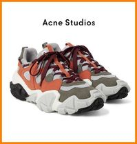 Acne Suede Plain Sneakers