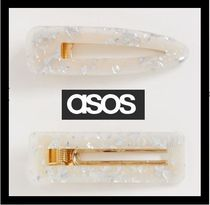 ASOS Barettes Casual Style Party Style Office Style Elegant Style