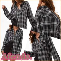 AFENDS Other Check Patterns Shirts & Blouses