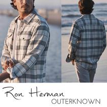 Ron Herman Other Check Patterns Unisex Street Style Collaboration