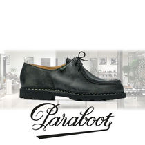 Paraboot Loafers Street Style Plain Leather Loafers & Slip-ons