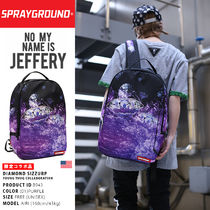 Sprayground Unisex Nylon Street Style A4 2WAY Backpacks