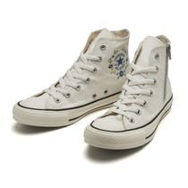 CONVERSE ALL STAR Flower Patterns Casual Style Street Style Low-Top Sneakers