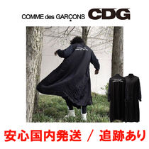 COMME des GARCONS Stripes Unisex Street Style Long Oversized Coats