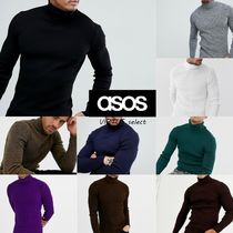 ASOS Long Sleeves Plain Knits & Sweaters
