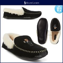 Ralph Lauren Moccasin Plain Leather Loafers & Slip-ons