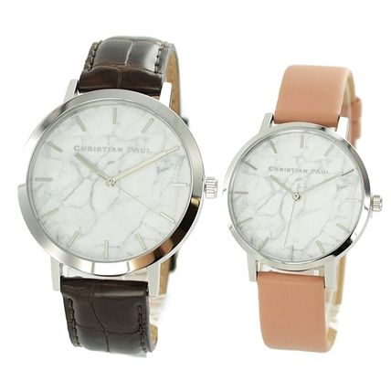 Leather Quartz Watches Analog Watches