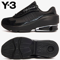 Y-3 Casual Style Street Style Low-Top Sneakers