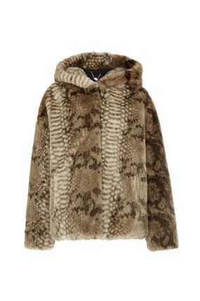 Leopard Patterns Casual Style Faux Fur Other Animal Patterns