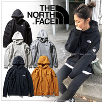 THE NORTH FACE Pullovers Unisex Street Style Long Sleeves Plain