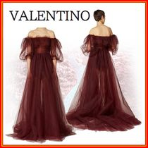 VALENTINO Silk Long Dresses
