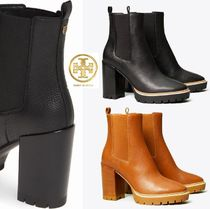 Tory Burch MILLER Mountain Boots Round Toe Rubber Sole Casual Style